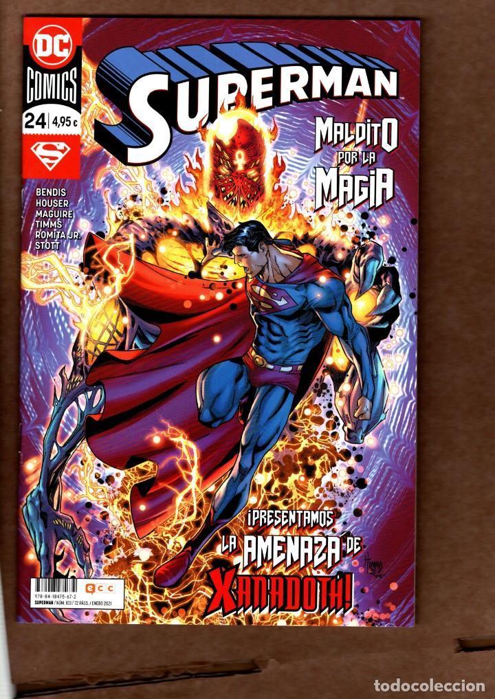 SUPERMAN 24 (103) - ECC / DC / GRAPA / NUEVO DE EDITORIAL (Tebeos y Comics - Comics otras Editoriales Actuales)