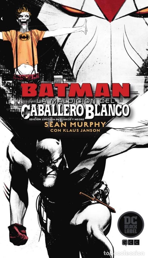 BATMAN : LA MALDICIÓN DEL CABALLERO BLANCO - ECC / DC BLACK LABEL / EDICIÓN LIMITADA BLANCO NEGRO (Tebeos y Comics - Comics otras Editoriales Actuales)