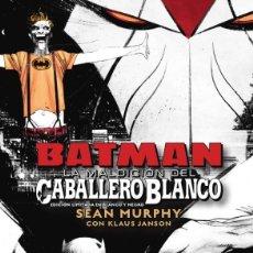 Cómics: BATMAN : LA MALDICIÓN DEL CABALLERO BLANCO - ECC / DC BLACK LABEL / EDICIÓN LIMITADA BLANCO NEGRO. Lote 236534640