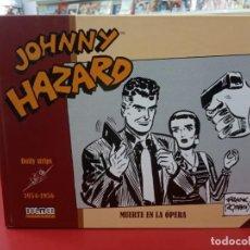 Cómics: JOHNNY HAZARD 1954-19456 : MUERTE EN LA OPERA , FRANK ROBBINS, EDITORIAL DOLMEN.. Lote 236536250