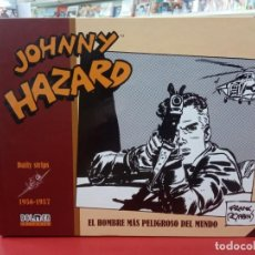 Cómics: JOHNNY HAZARD 1956-1957: EL HOMBRE MAS PELIGROSO DEL MUNDO , FRANK ROBBINS, EDITORIAL DOLMEN.. Lote 236537055