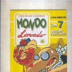 Cómics: MONDO LIRONDO NUMERO 7. Lote 236557485