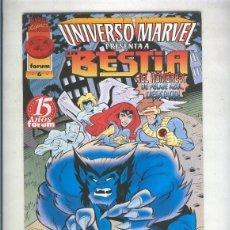 Cómics: UNIVERSO MARVEL NUMERO 06: LA BESTIA. Lote 236557650