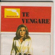 Cómics: SHERIFF: TE VENGARE. Lote 236558385