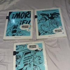 Cómics: 3 LIBRO MORTADELO Y FILEMÓN EDICIÓN COLECCIONISTA SIGNO EDITORES 5 EUROS X UNIDAD,N° 2,3 Y 4,EMBALA. Lote 236618920