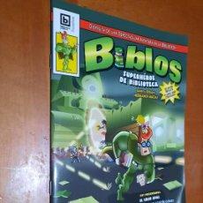Cómics: BIBLOS SUPERHÉROE DE BIBLIOTECA. EL GRAN OPAC. HERMANOS MACÍAS. GRAPA. RÚSTICA. BUEN ESTADO. Lote 236632355