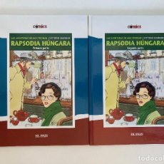 Cómics: RADSODIA HÚNGARA DE VITTORIO GIARDINO. EL PAÍS.. Lote 236653105