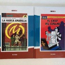 Cómics: BLAKE Y MORTIMER LA MARCA AMARILLA Y EL CASO DEL COLLAR DE EDGAR P. JACOBS. EL PAÍS.. Lote 236653750