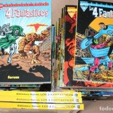 Cómics: BIBLIOTECA MARVEL LOS 4 FANTÁSTICOS 01 02 03 1 2 3 4 5...30 31 32 - COMPLETA 35 - Y SUELTOS - CUATRO. Lote 236699605