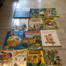 Comics : LOTE TEBEOS Y CUENTOS. PULGARCITO, SNOOPY, ETC. MIRAR FOTOS. Lote 236746610