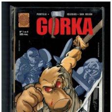 Cómics: GORKA. COMPLETA NÚMEROS 1,2,3 Y 4. PLANETA. COMO NUEVOS.. Lote 236786010