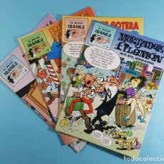 Cómics: LOTE 4 COMICS EL MEJOR IBAÑEZ, PRIMERA PLANA 1999: MORTADELO Y FILEMON, ROMPETECHOS, PEPE GOTERA.... Lote 236811520