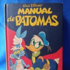 Cómics: MANUAL DE PATOMAS WALT DISNEY EDICIONES MONTENA S.A. LEER DESCRIPCION. Lote 237108195