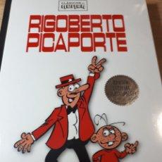 Cómics: RIGOBERTO PICAPORTE CLASICOS DEL HUMOR TAPA DURA. Lote 237206415