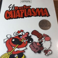 Cómics: EL DOCTOR CATAPLASMA CLASICOS DEL HUMOR TAPA DURA. Lote 237206725