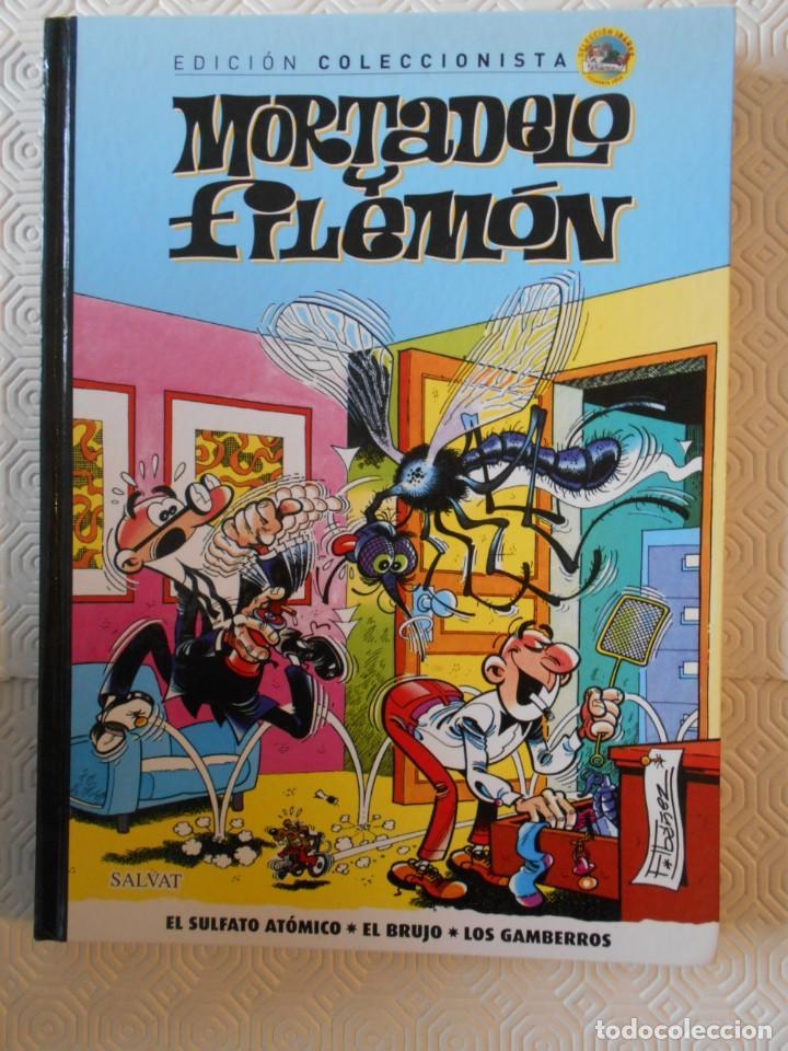 MORTADELO Y FILEMON. FRANCISCO IBAÑEZ. EDICION COLECCIONISTA. Nº 5. SALVAT. 2012. TAPA DURA. COLOR. (Tebeos y Comics - Comics otras Editoriales Actuales)