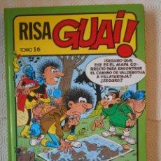 Cómics: RISA GUAY. TOMO 16. TAPA DURA. COLOR. 510 GRAMOS. CONTIENE LOS NUMEROS 135 AL 139 DE GUAY.. Lote 237268520