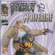 Cómics: DEATHBLOW AND WOLVERINE VOL.1: NO.02. Lote 237296850