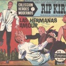 Cómics: HEROES MODERNOS SERIE C: RIP KIRBY NUMERO 05 (NUMERADO 1 EN TRASERA). Lote 237308565