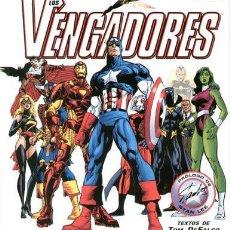 Cómics: LOS VENGADORES LA GUIA DEFINITIVA (TOM DEFALCO) TAPA DURA MUY BUEN ESTADO. Lote 237310815