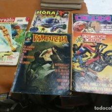 Comics : LOTE 5 COMICS PARA ADULTOS ESCAPE LIBRE Nº VAMPIRELLA Nº 34 HORA T Nº 4, DELTA 31. INTERVALO Nº 358. Lote 237366890