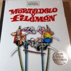 Cómics: MORTADELO Y FILEMON 3 CLASICOS DEL HUMOR PRECINTADO TAPAS PURAS. Lote 237408015