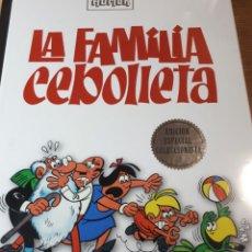 Cómics: LA FAMILIA CEBOLLETA CLASICOS DEL HUMOR PRECINTADO TAPAS DURAS. Lote 237408210