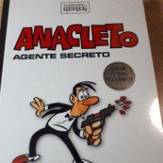 Cómics: ANACLETO AGENTE SECRETO PRECINTADO CLASICOS DEL HUMOR TAPAS DURAS. Lote 237408440