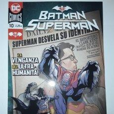 Cómics: BATMAN / SUPERMAN 10 (GRAPA) - WILLIAMSON, HENRY - ECC CÓMICS. Lote 237459275