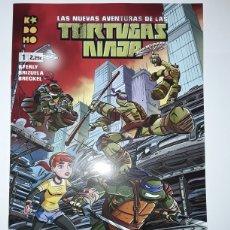 Cómics: TORTUGAS NINJA 1 (GRAPA) - BYERLY, BRIZUELA, BRECKEL - ECC CÓMICS / KODOMO. Lote 237462405