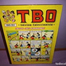 Cómics: TBO EDICION COLECCIONISTA / 1949-1951 / SALVAT 2011 * INCLUYE CINCO ALMANAQUES. Lote 237462725