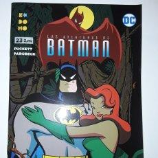 Cómics: LAS AVENTURAS DE BATMAN 23 (GRAPA) - PUCKETT, PAROBECK - ECC CÓMICS / KODOMO. Lote 237462750