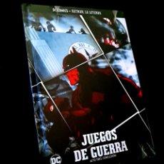 Cómics: PRECINTADO BATMAN LA LEYENDA VOLUMEN 16 JUEGOS DE GUERRA ACTOS TRES CONCLUSICON COMICS DC ECC. Lote 237648550