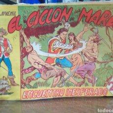 Cómics: EL CICLO DE LOS MARES-ENCUENTROS INESPERADOS-N°4-EDITA JULMA-AÑO 1962,MIRAR FOTOS ALGO FATIGADO. Lote 237649565