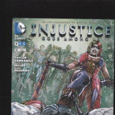 Cómics: INJUSTICE - GODS AMONG US - Nº 13 DE 76 - NUDC - ECC EDICIONES -. Lote 237649580