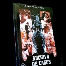 Cómics: PRECINTADO BATMAN LA LEYENDA VOLUMEN 13 ARCHIVO DE CASOS COMICS DC ECC TAPA DURA TOMO. Lote 237649705