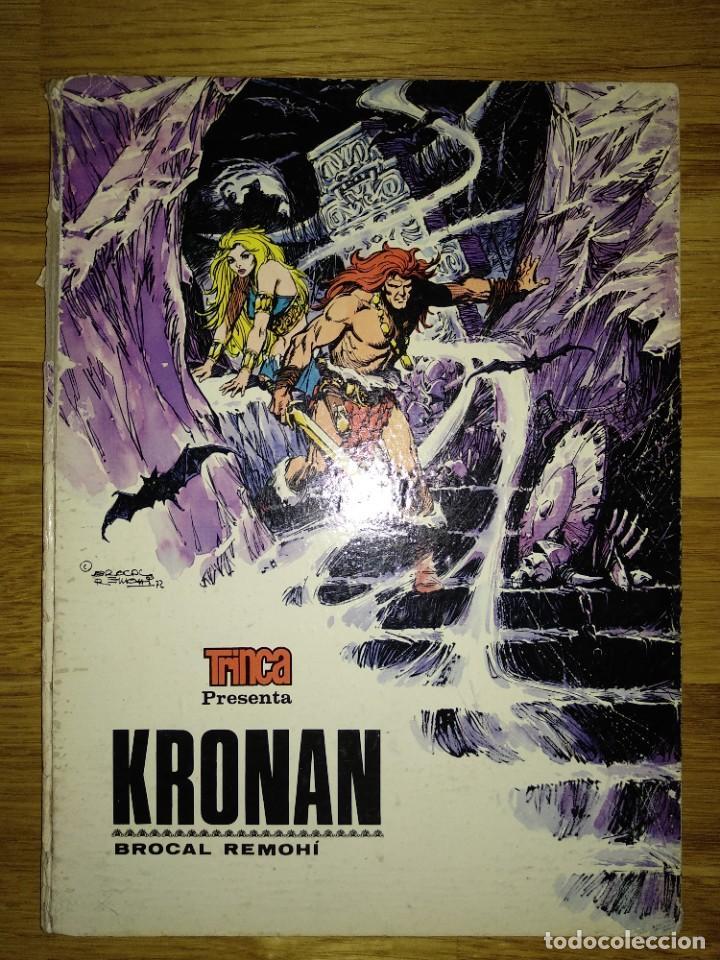 CÓMICS LOTE TRES: BLAKE Y MORTIMER, SAXXON Y KRONAN (Tebeos y Comics - Comics Pequeños Lotes de Conjunto)