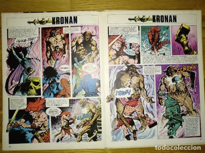 Cómics: Cómics lote tres: Blake y Mortimer, Saxxon y Kronan - Foto 3 - 237851965