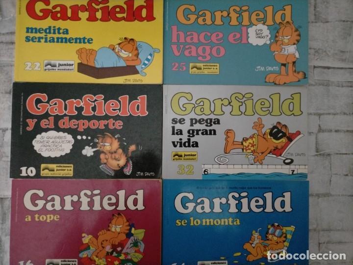 LOTE GARFIELD 10 14 16 22 25 32 (Tebeos y Comics - Comics Pequeños Lotes de Conjunto)