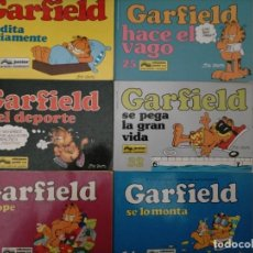 Comics: LOTE GARFIELD 10 14 16 22 25 32. Lote 237901725
