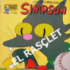 Cómics: LOS INCORREGIBLES SIMPSON - TAPA EN RELIEVE - COMICS BONGO - 1995. Lote 238012665