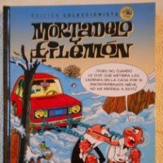 Cómics: MORTADELO Y FILEMON. EDICION COLECCIONISTA Nº 3. FRANCISCO IBAÑEZ. SALVAT, 2012. TAPA DURA. COLOR. 6. Lote 238086010
