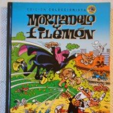 Cómics: MORTADELO Y FILEMON. EDICION COLECCIONISTA Nº 15. FRANCISCO IBAÑEZ. SALVAT, 2012. TAPA DURA. COLOR.. Lote 238087210