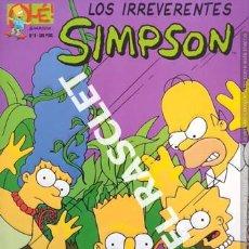 Cómics: LOS IRREVERENTES SIMPSON - NUMERO 9. Lote 238101435