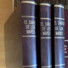 Cómics: EL DIABLO DE LOS MARES : 68 NÙMEROS . GUAFLEX . REEDICIÓN . COMPLETA . 3 TOMOS .. Lote 238213125