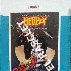 Cómics: COMIC HELLBOY - LOS LOBOS DE SAN AUGUSTO - MIKE MIGNOLA. Lote 238463785