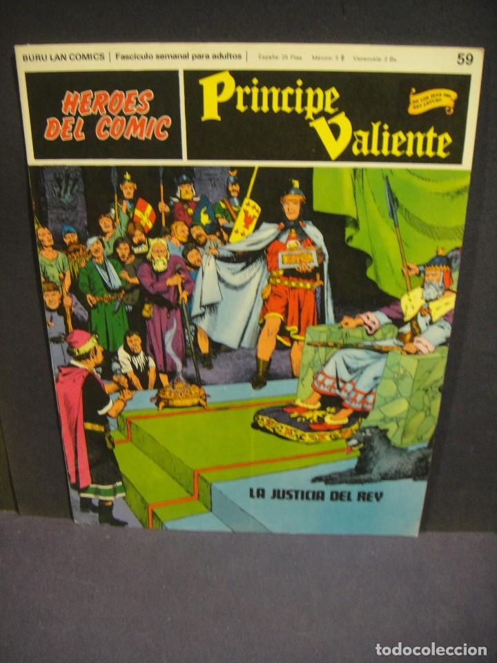 EL PRINCIPE VALIENTE Nº 59 - BURULAN 1973 (Tebeos y Comics - Buru-Lan - Principe Valiente)