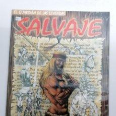 Cómics: SALVAJE Nº 1 - LA BALADA DE LA LOBA -EL GUARDIAN DE LAS LEYENDAS - ED. WEST WIND 2003 - CONAN TIPO. Lote 238484870