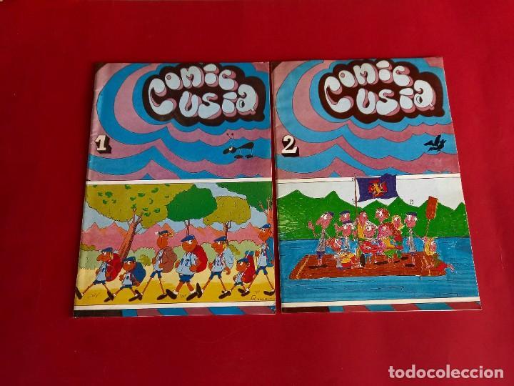 COMIC USIA 1 Y 2 - COMPLETA -ORGANIZACIÓN JUVENIL ESPAÑOLA - LOTE UNICO- (Tebeos y Comics Pendientes de Clasificar)