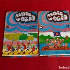 Cómics: COMIC USIA 1 Y 2 - COMPLETA -ORGANIZACIÓN JUVENIL ESPAÑOLA - LOTE UNICO-. Lote 238790090